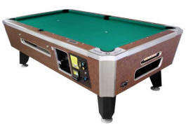 Panther Pool Table   Coin Operated From Valley Dynamo