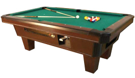 Amazing Top Cat Pool Table   Coin Operated From Valley Dynamo