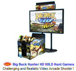 New Video Arcade Game For Sale : Big Buck Wild HD Video Arcade Game