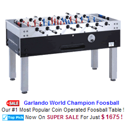 New Arcade Sports Game For Sale : Garlando World Champion Foosball Table