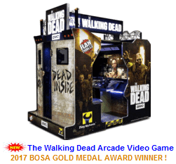 New Video Arcade Game For Sale : The Walking Dead Video Game Theater